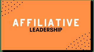 Affiliative Leadership Flexi Card with Shadow
