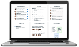 Basecamp a team communication tool for communicating about specific tasks