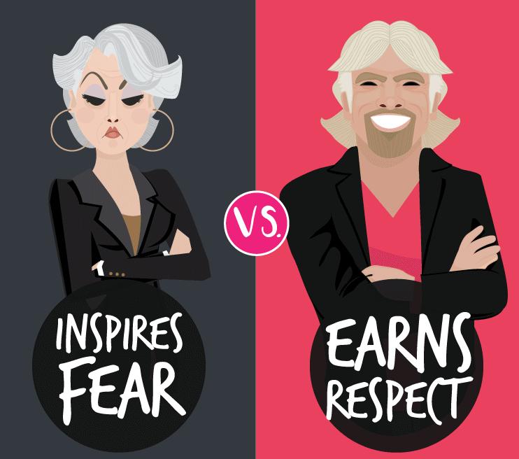Boss vs Leader Infographic from Officevibe