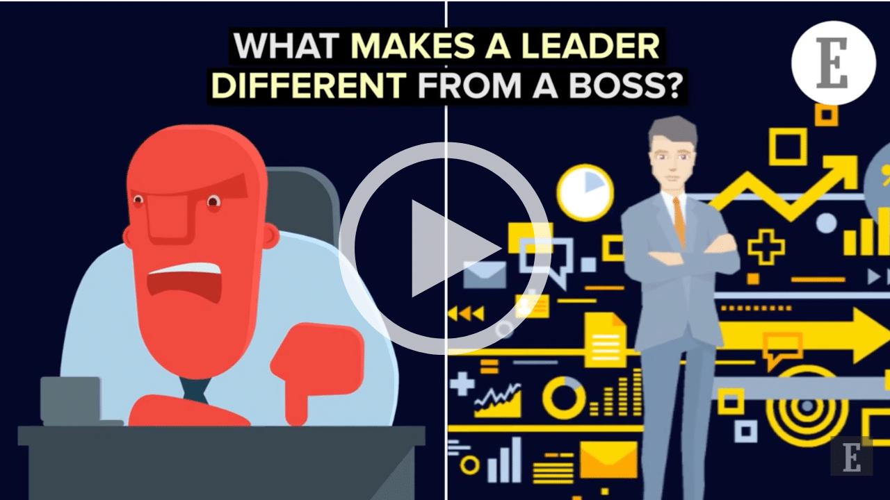 Boss vs Leader Video from Entrepreneur