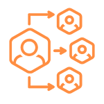 Delegation and Autonomy At Work Icon