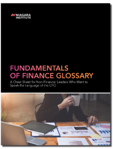 Fundamentals of Finance Glossary Cover 3D
