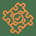 Problem Solving Icon Orange