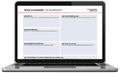Team Alignment Editable Worksheet from Niagara Institute